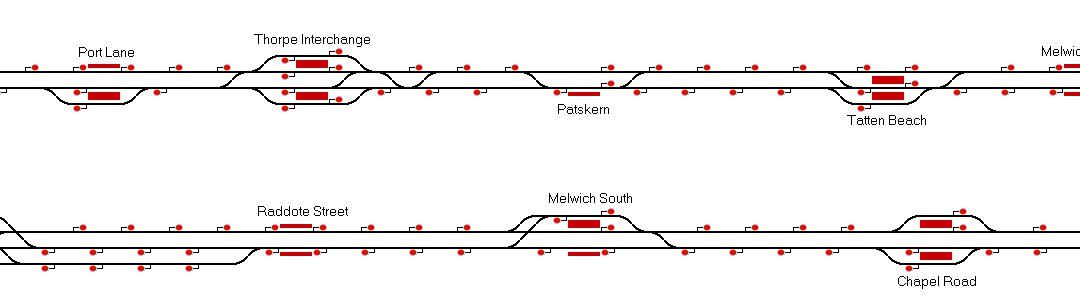 Small Intense Metro by Daniel Gill