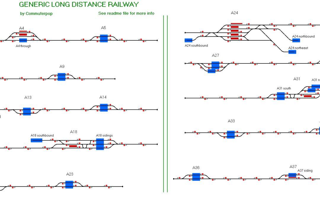 Generic Long Distance Railway by Commuterpop